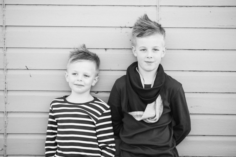 BROTHERS PORTRAIT
