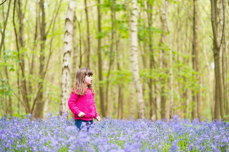 BLUEBELL WOODLAND PORTRAITS