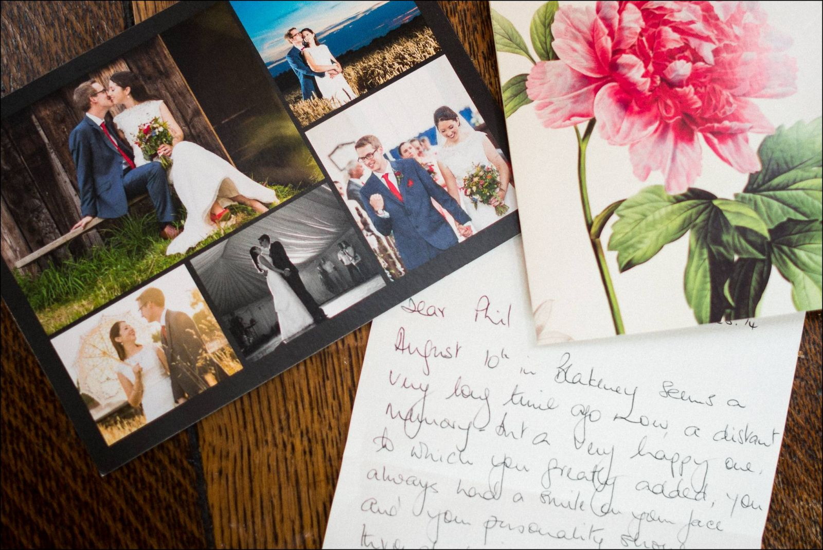 THANK YOU CARD PHOTOGRAPHS