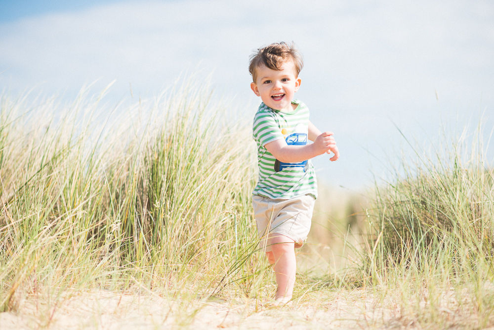 HIDE AND SEEK IN THE NORFOLK BEACH SAND DUNES