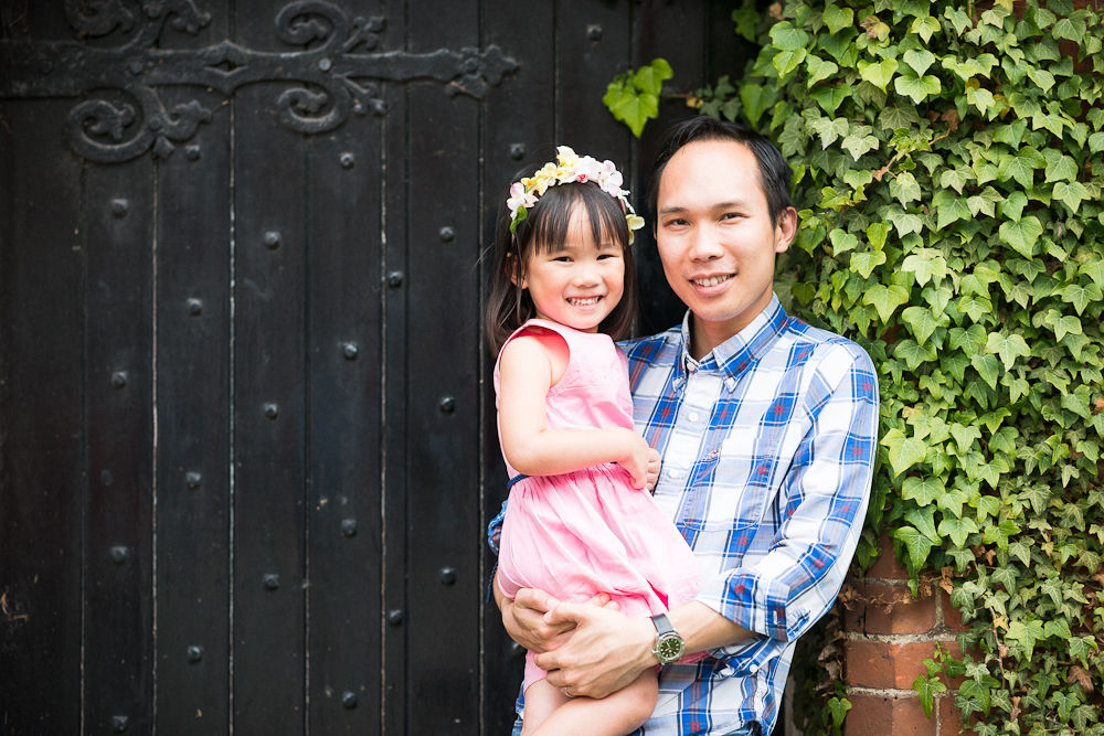 DAD AND HIS DAUGHTER PORTRAIT