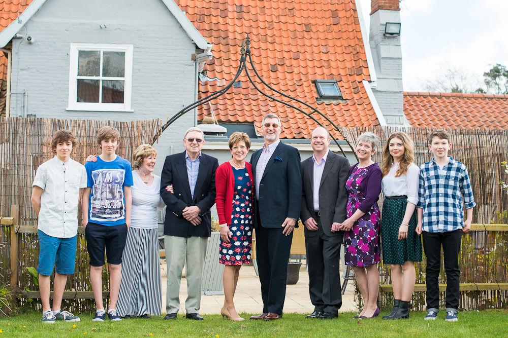 WHOLE FAMILY PORTRAIT NEWTON FLOTMAN