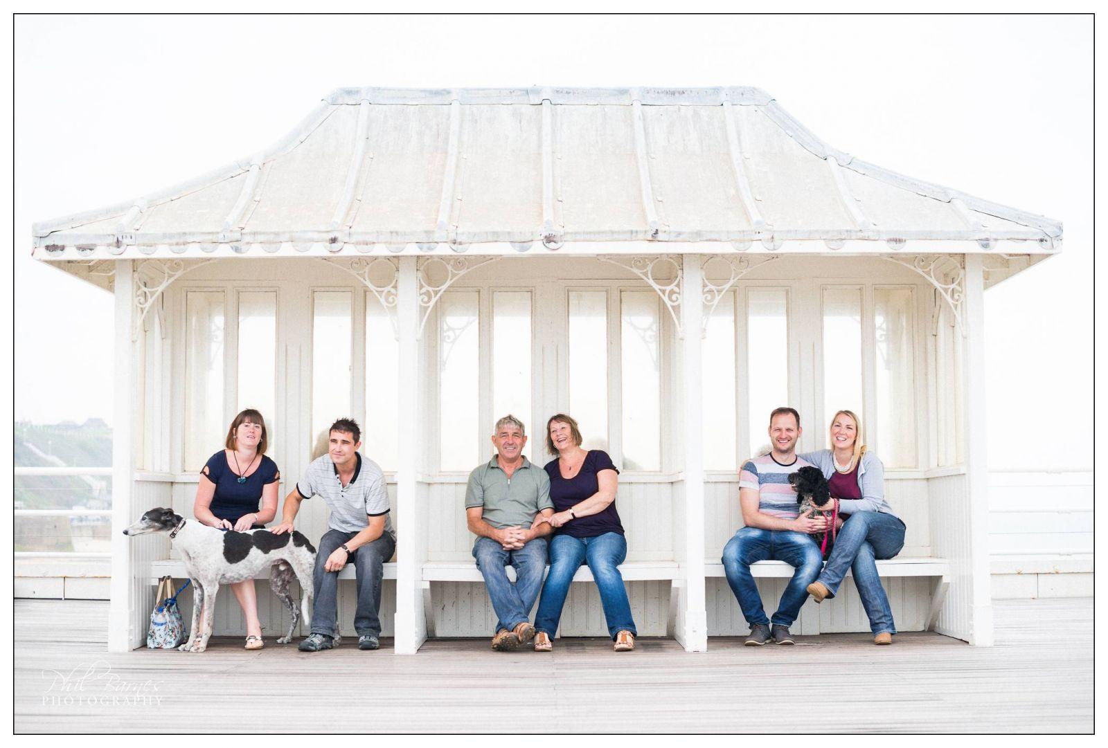 CROMER PIER FAMILY PORTRAIT PHOTOGRAPHY
