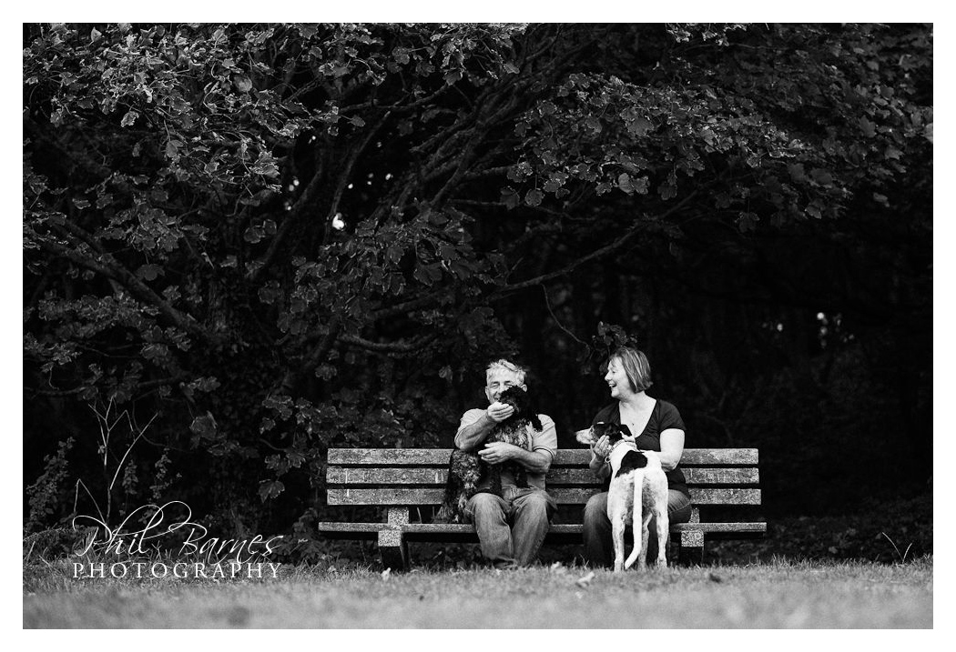 PORTRAIT WITH DOGS CROMER