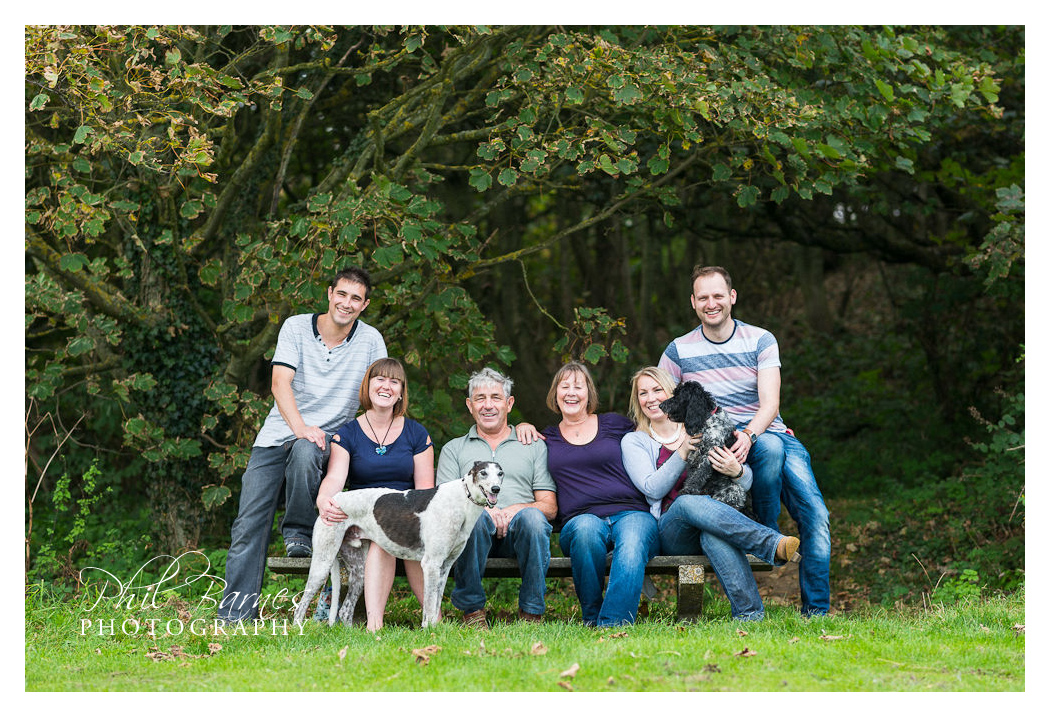 FAMILY PHOTOGRAPH HAPPY VALLEY CROMER NORFOLK