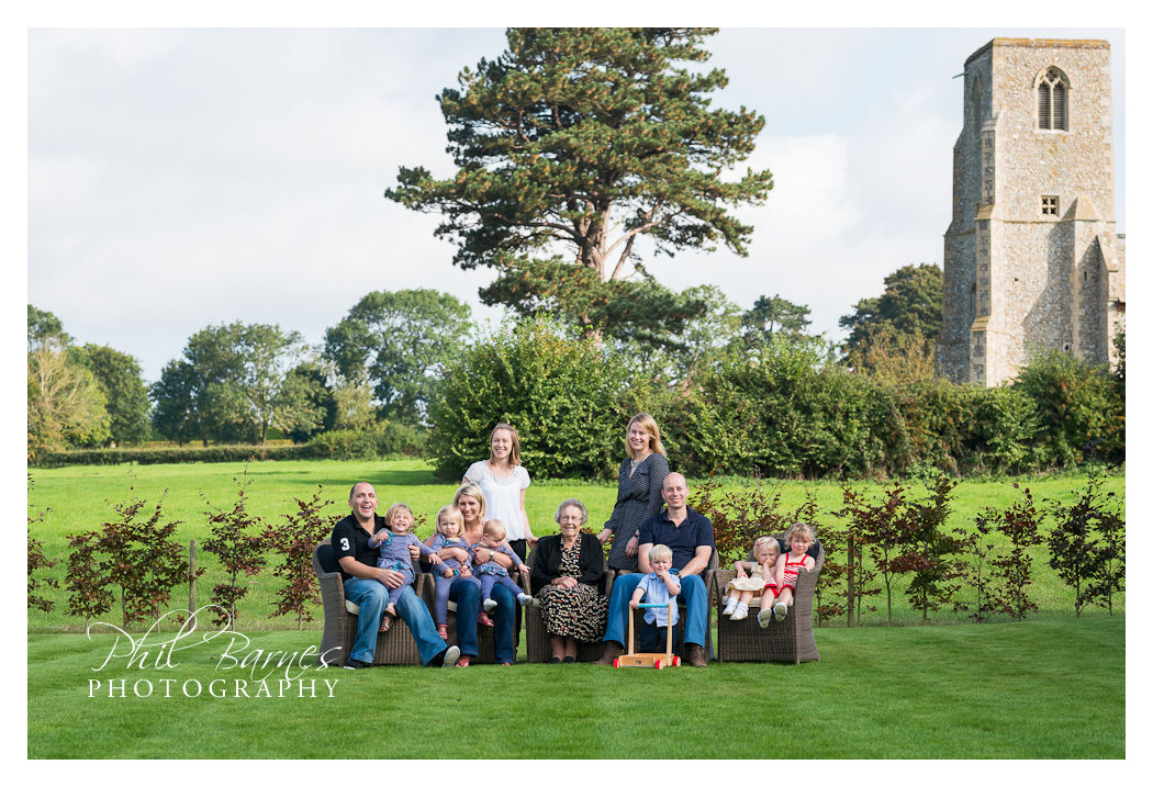 FORMAL FAMILY PORTRAIT FAKENHAM