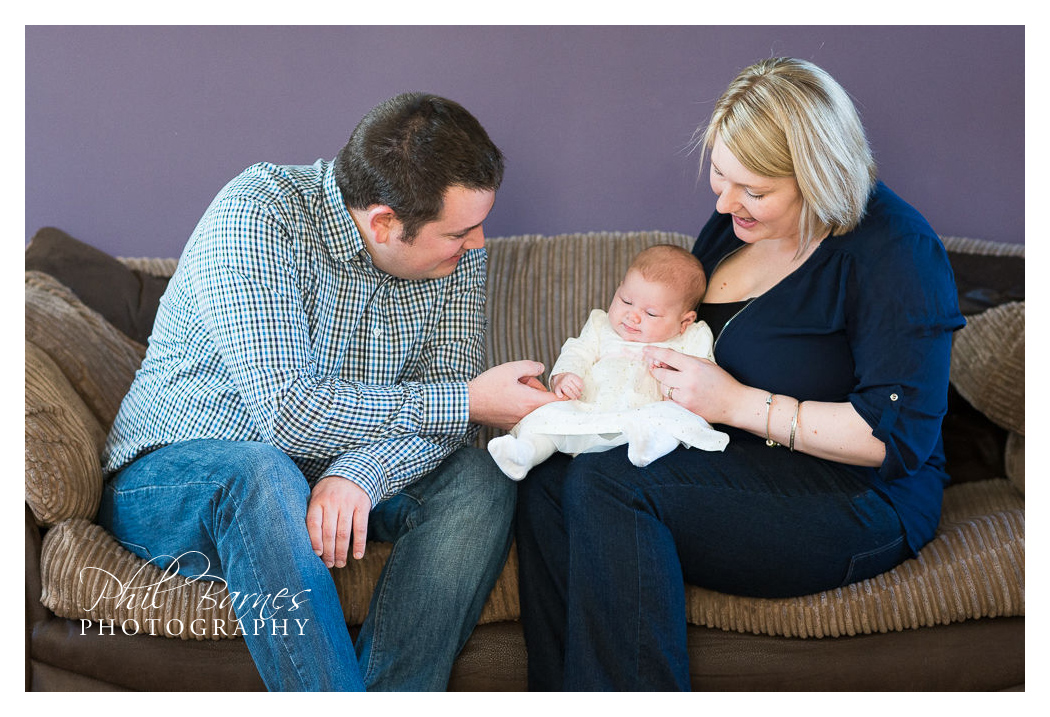 NEW FAMILY LIFESTYLE PORTRAIT