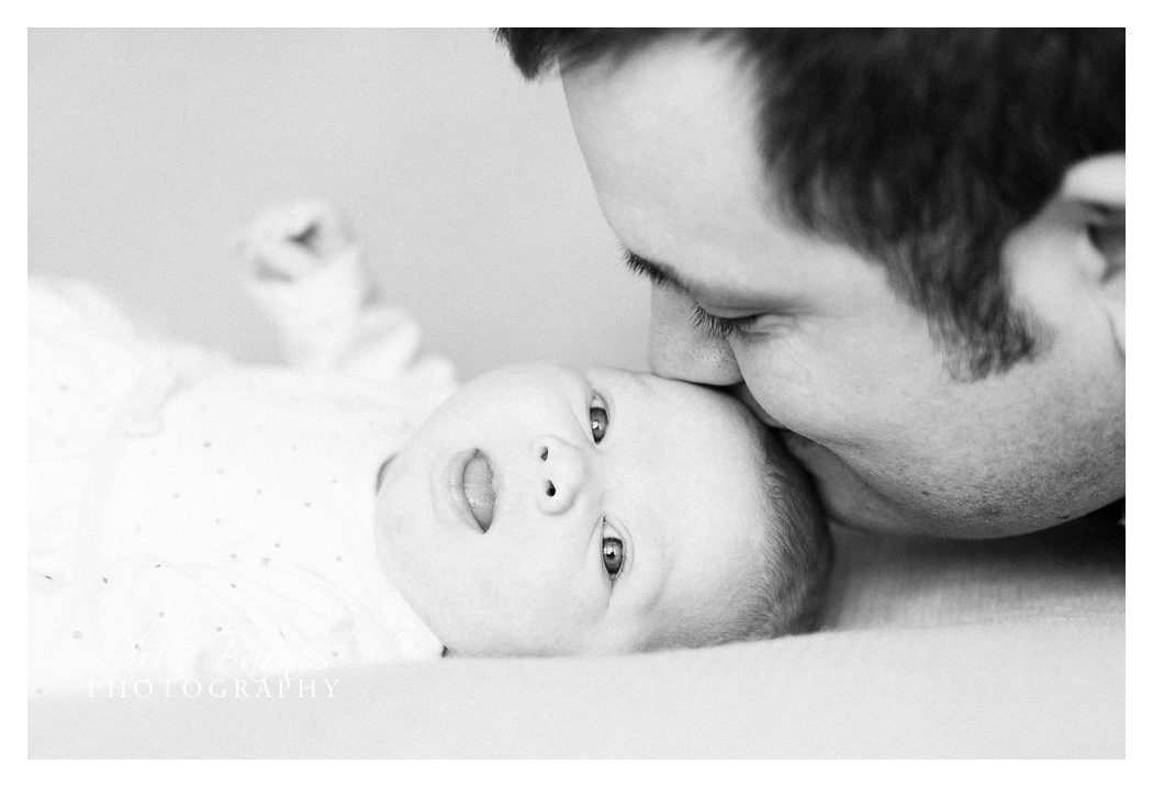 BABY AND DAD PHOTOGRAPH