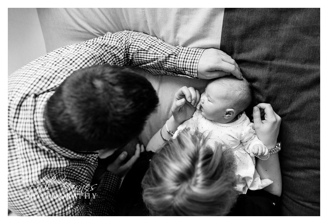 BABY AND PARENTS PORTRAIT