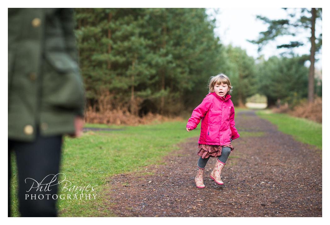 running girl photograph