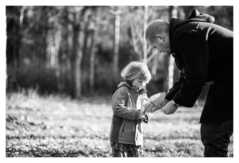 dad and daughter portrait black and white